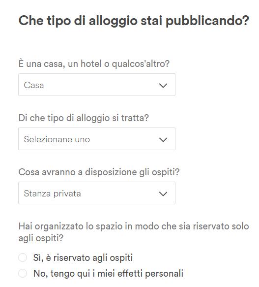 airbnb accesso proprietari